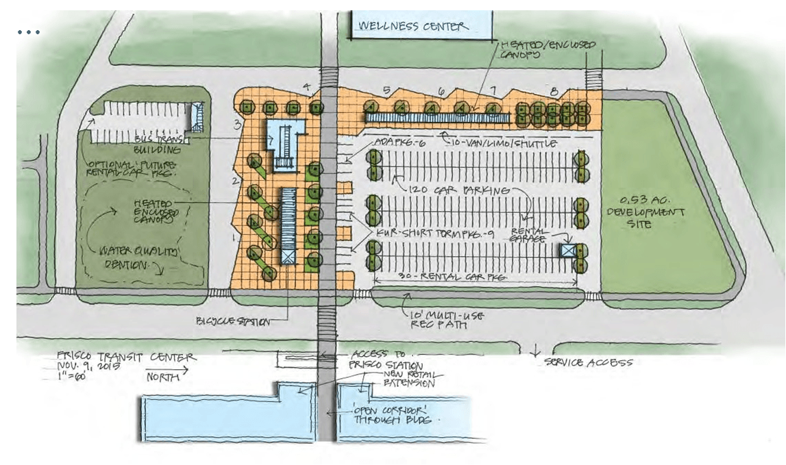 Illustration of the Recommended Site Plan