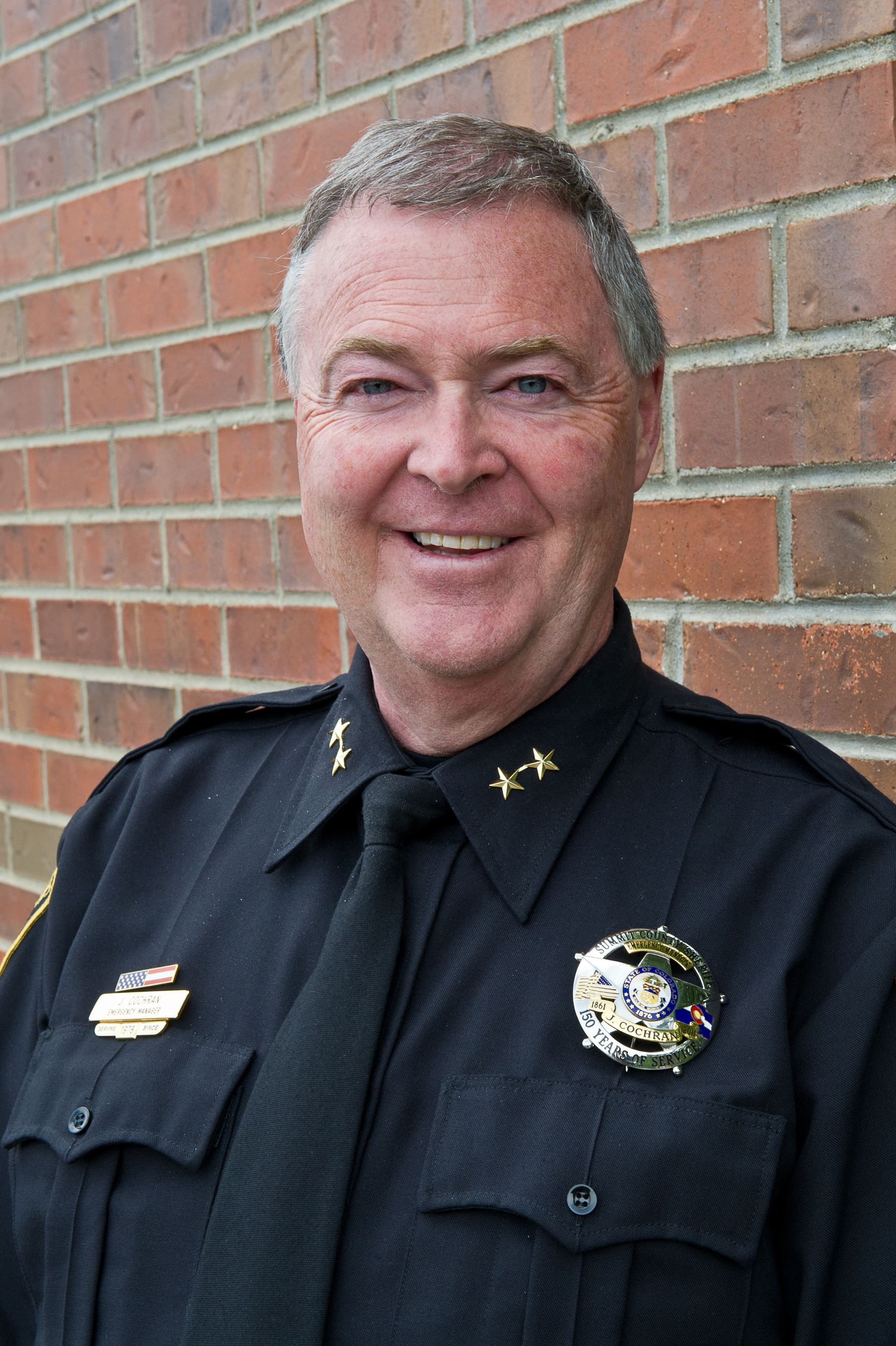 Photo of Undersheriff Joel Cochran