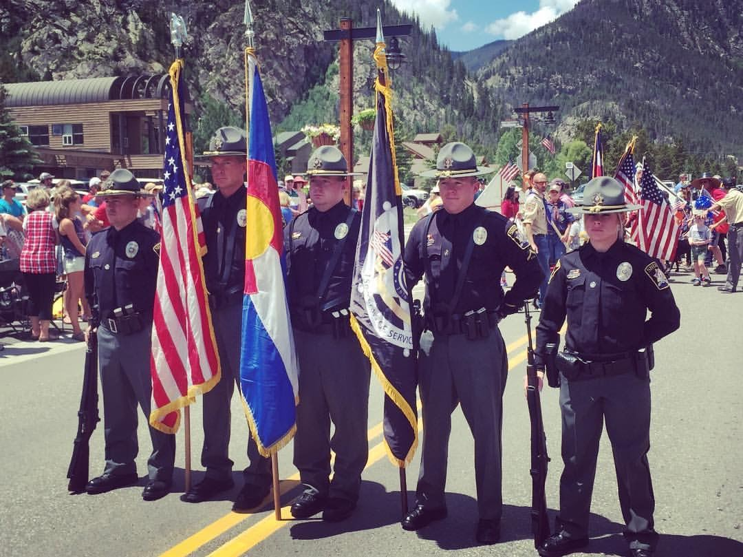 Summit County Sheriff's Office Color Guard 2016