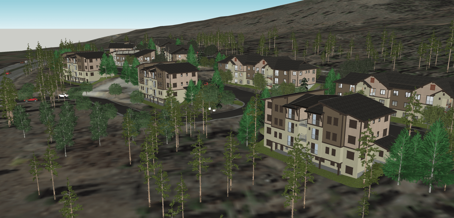 Village at Wintergreen Artists' Rendering