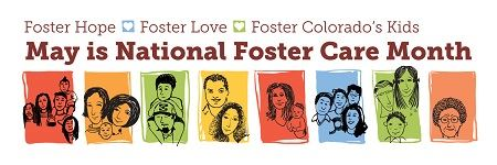 Foster care Month logo