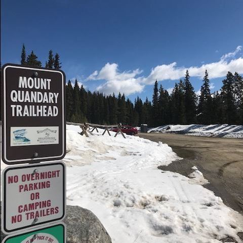 Mount Quandary Trailhead