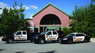 Justice Center and Patrol Vehicles